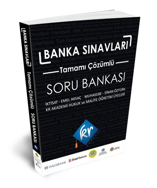 Kr Akademi Yayınları - Banka Sınavları Çözümlü Soru Bankası