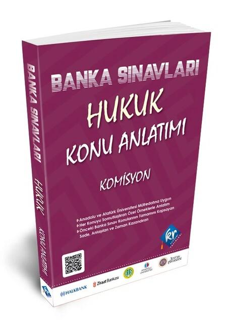 Kr Akademi Yayınları - Banka Sınavları Hukuk Konu Anlatımı Kitabı