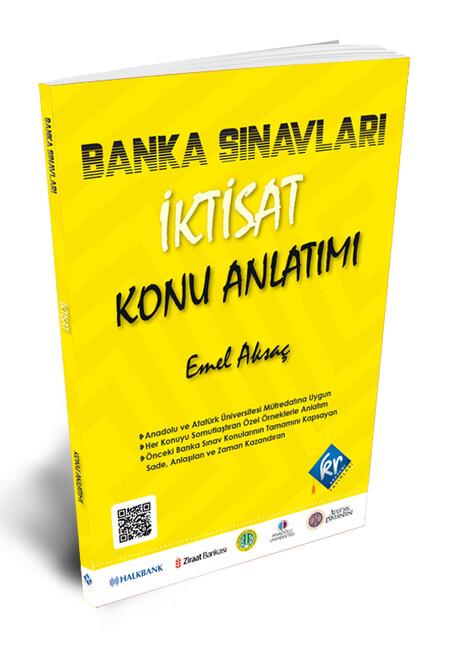Kr Akademi Yayınları - Banka Sınavları İktisat Konu Anlatımı Kitabı
