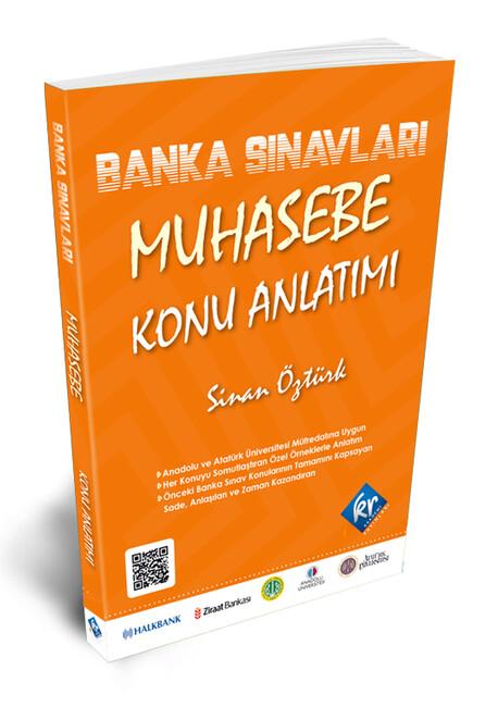 Kr Akademi Yayınları - Banka Sınavları Muhasebe Konu Anlatımı Kitabı