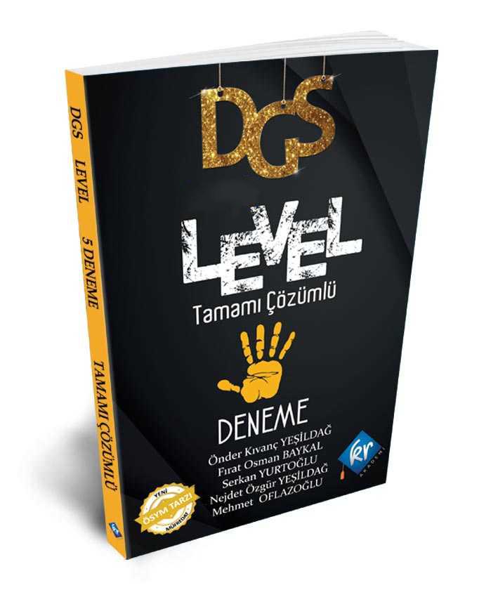 2021 DGS Level Çözümlü 5 Deneme