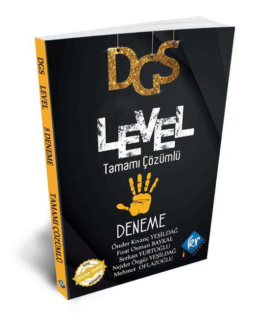 Kr Akademi Yayınları - 2021 DGS Level Çözümlü 5 Deneme