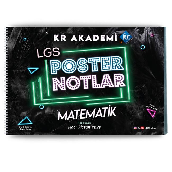 Kr Akademi Yayınları LGS - LGS Matematik Poster Notları