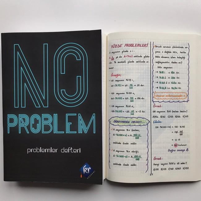 No Problem Matematik Problemler Defteri - Thumbnail