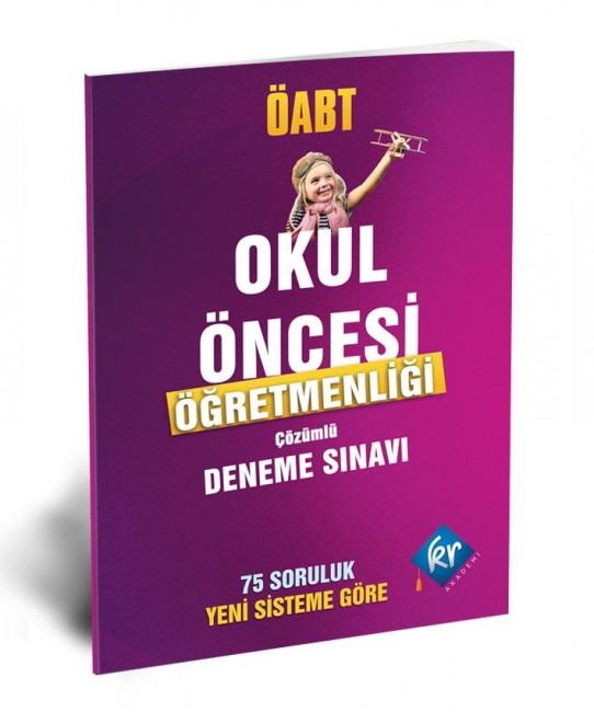 Kr Akademi Yayınları - ÖABT Okul Öncesi Öğretmenliği Çözümlü Deneme
